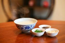 朝炊きの中国粥 薬味セット