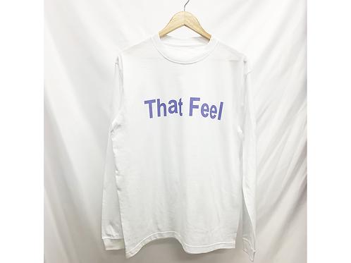 That Feel logo long sleeve