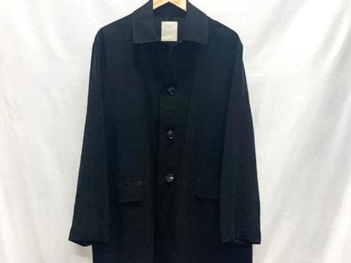 ステンカラージャケット リネン BLACK
