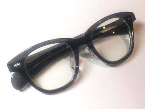 恋するサングラス クリアブラックフレーム レンズ:クリア