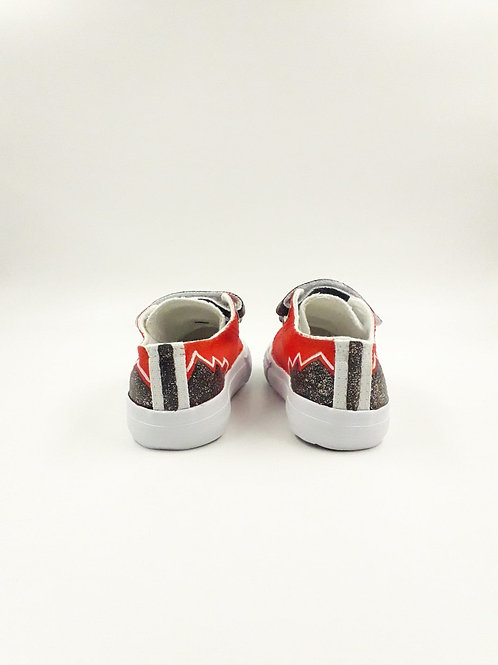 Baskets Kids Red Fire
