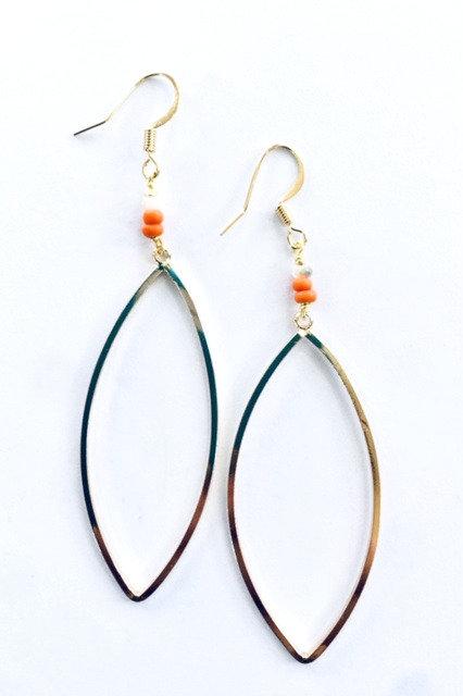 Cora Marque Drop Earrings