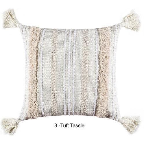 Boho Tufted Decorative Morocco  Shaggy Cushion Cover