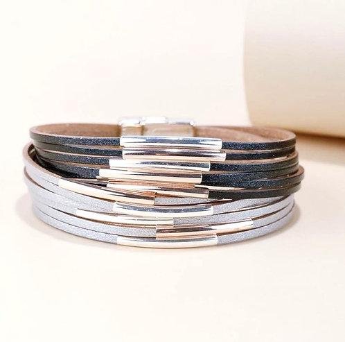 Rocker Multi Layer Bracelet
