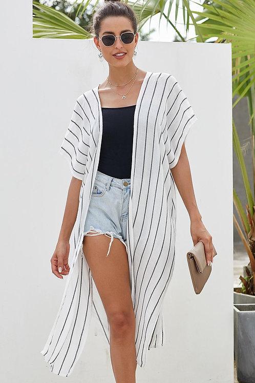 Blanca Stripe Boho Kimono