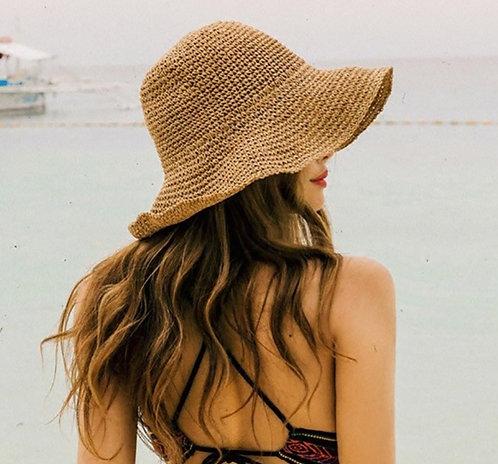 Lala  Panama Floppy Bucket Hat