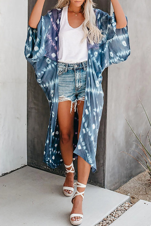 Bali Boho Tie-dye Kimono