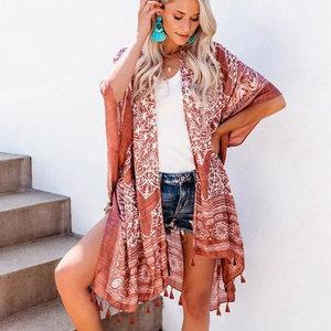 Anja Boho Fringe Kimono