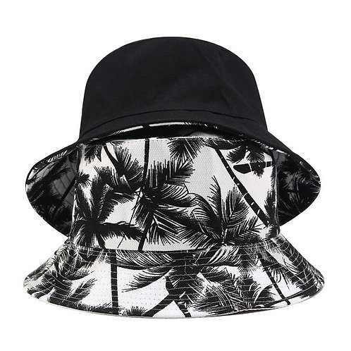 Palama Canvas Two-Sided Bucket Hat