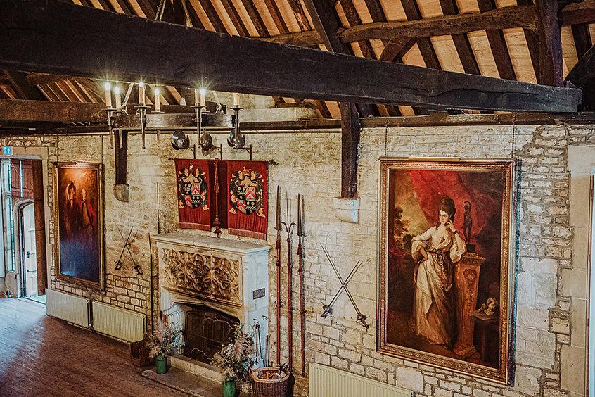 Tithe Barn Fireplace