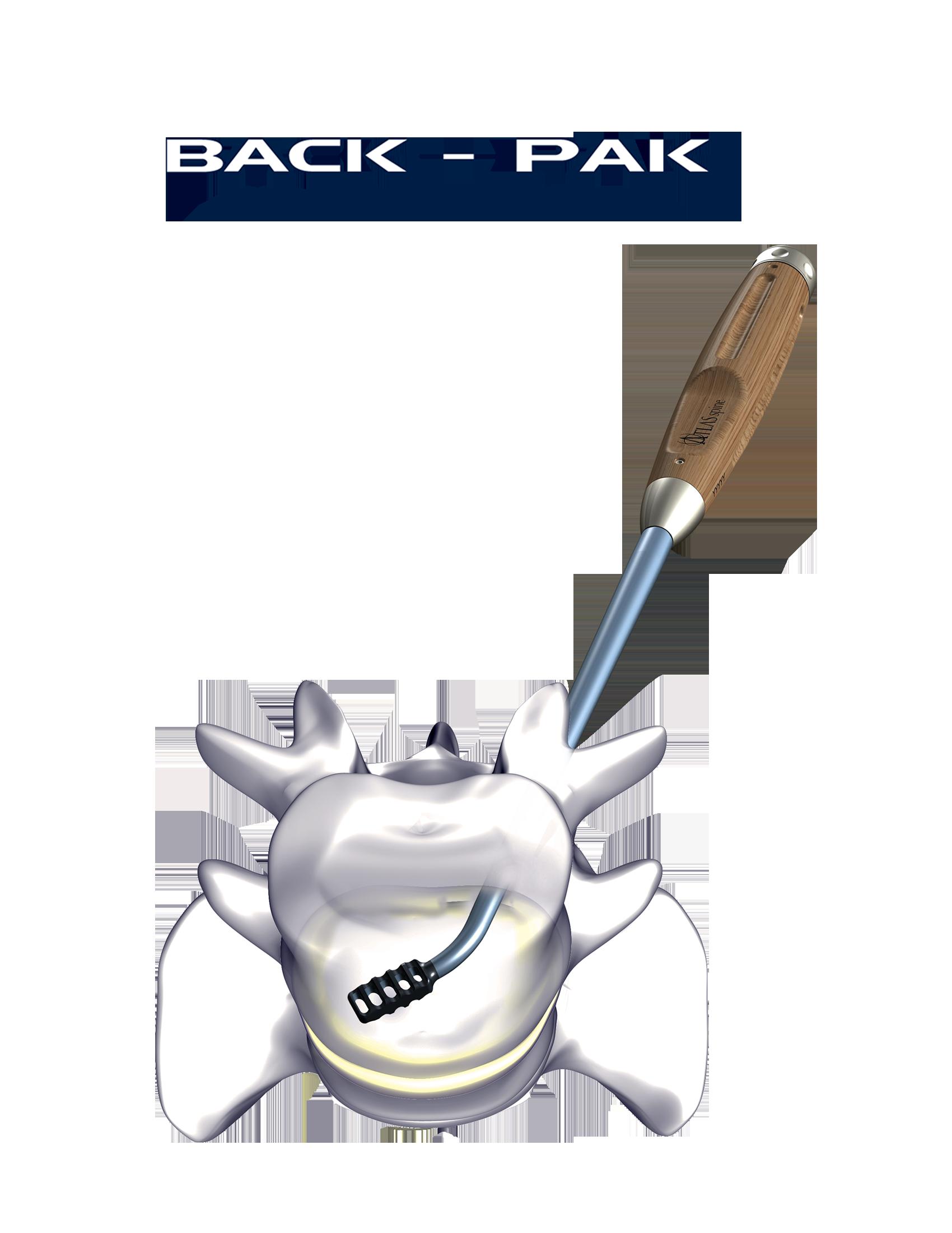 BACK-PAK WITH LOGO