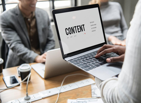 Google Analytics & Content Writing