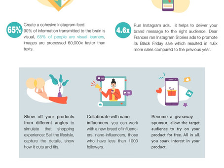 How to Increase Sales on Instagram [Infographic]