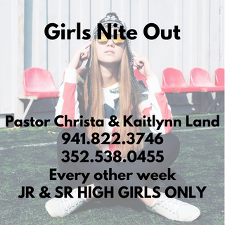 Girls Nite Out (Youth Girls Only)