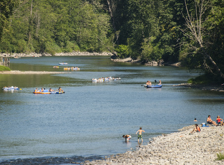 Snoqualmie River Floating