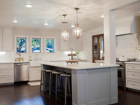 "Beautiful Kitchen Makeovers from HGTV's ""Fixer Upper"""