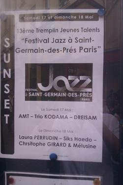 Tremplin Saint Germain es Prés
