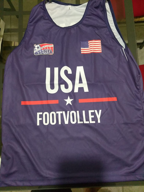 Official NFA USA Footvolley team
