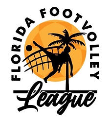 Logo Florida Footvolley League Orange I.