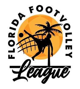 Logo Florida Footvolley League Orange I.