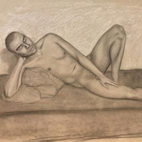 Charcoal Figure