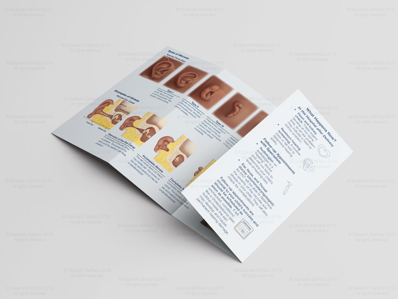 Microtia and Atresia Brochure Mockup