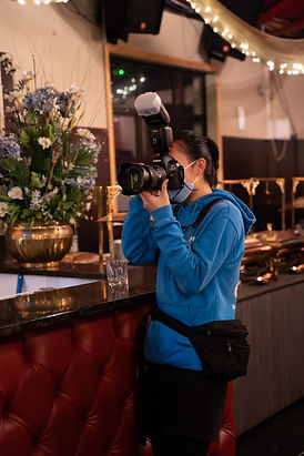 Joyce Chen 21st Birthday Party Canon 5Dmark4 Behind the scenes Work photo Flashwork