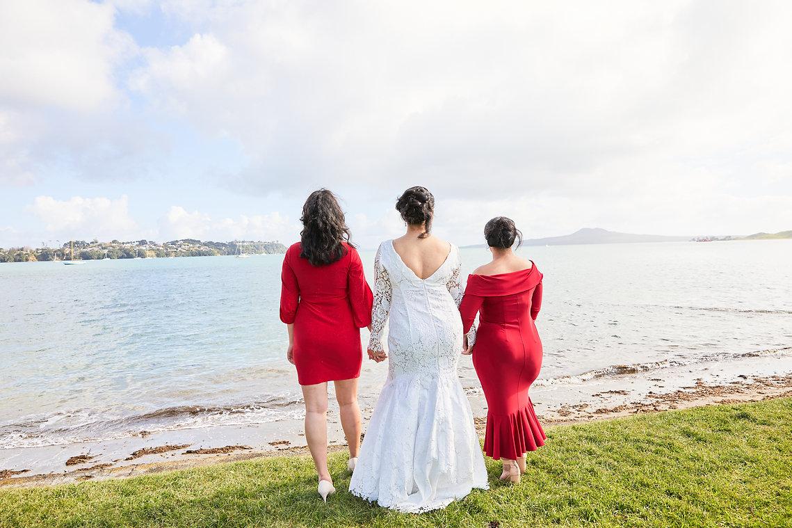 Wedding Bridesmaid Best Friend Celebrating Love Elopement
