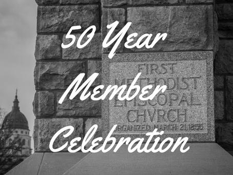 50 Year Member Celebration