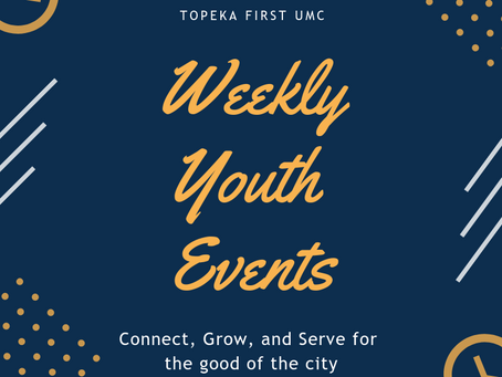 Weekly Youth Activities 03/13/2019