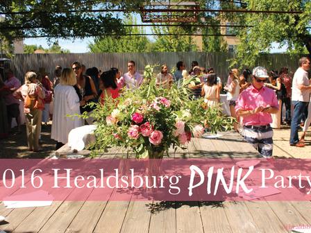 2016 Healdsburg PINK Party!