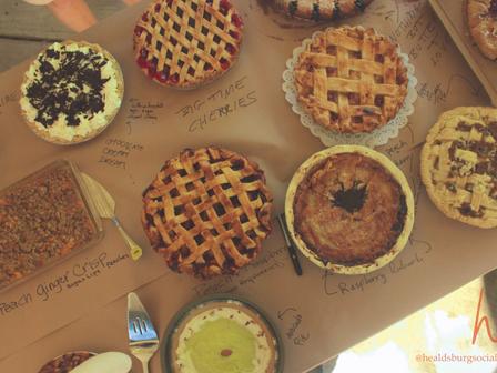 Pie Happy in Healdsburg.
