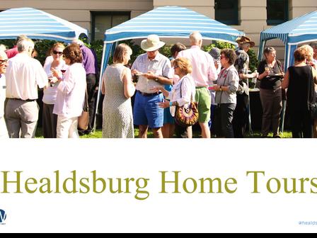 Healdsburg Homes Tour 2016.