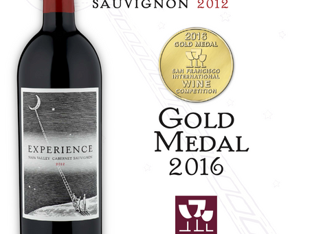 Accolades of our 2012 Experience Napa Valley Cabernet