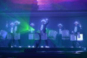 Eventmanagement Incentive Show Bühne LED Drummer