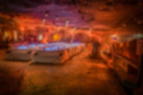 Event im Bergwerk Höhle Dinner Show