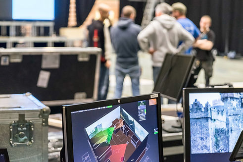 Eventtechnik 3d Mapping Show Eventagentur