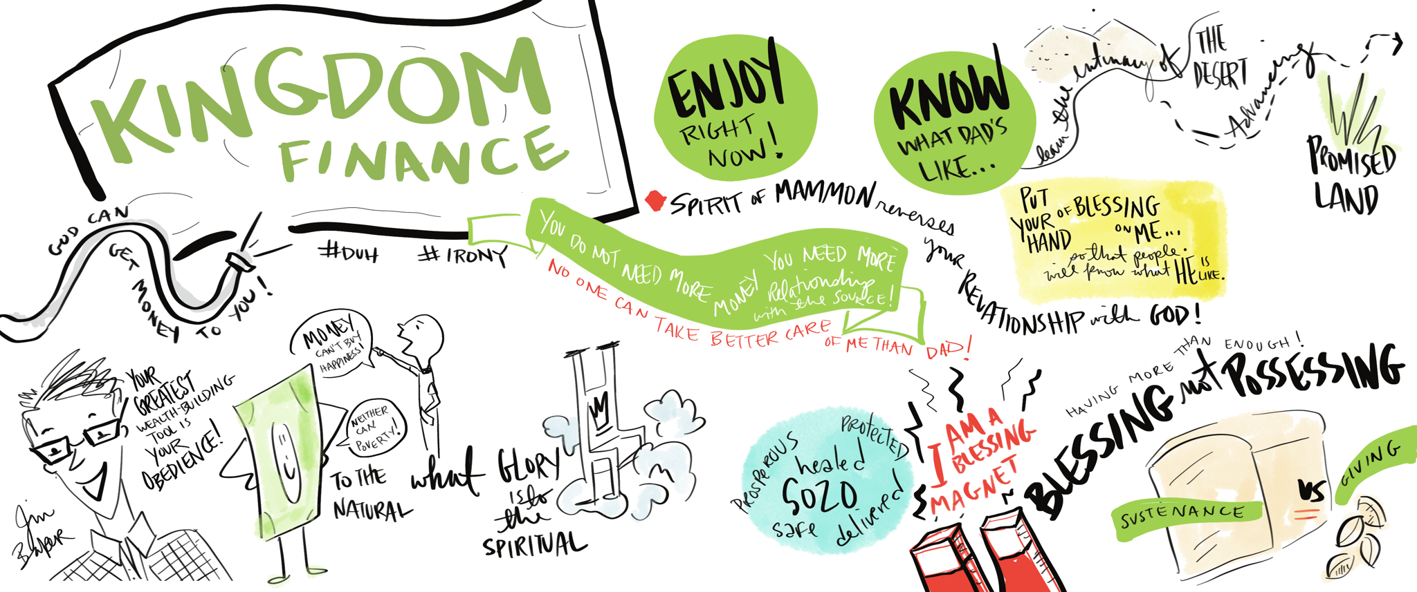 Main Session | Visual Notes