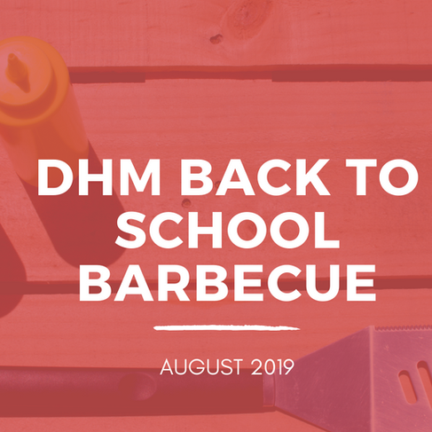 DHM Back to School Barbecue