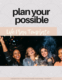 plan your possible- life plan template f