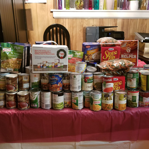 Food Drive - Community Outreach Project