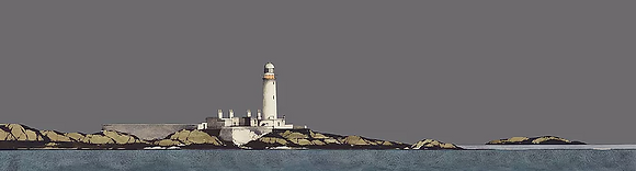 'Lismore Lighthouse' by Ron Lawson