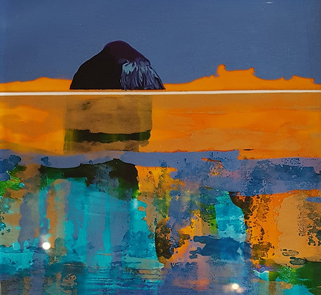 'Wee Ailsa Abstract' by Nick Giles