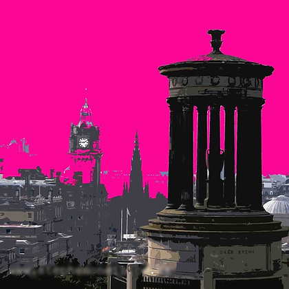'Edinburgh (Crimson)' by Stephen O'Neill