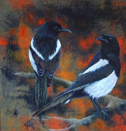 'Magpies' by Helen Welsh