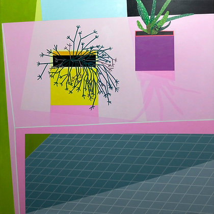 'Pink Table Arrangement' by Donald MacLean