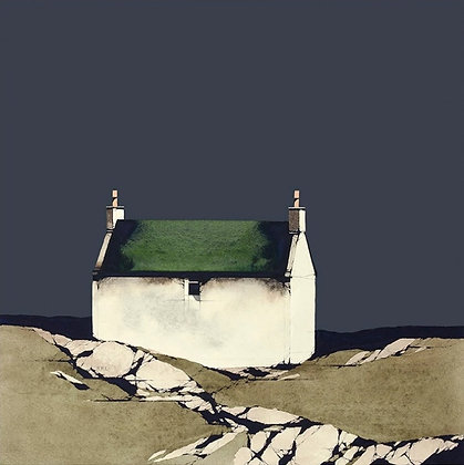 'Barra Cottage' by Ron Lawson