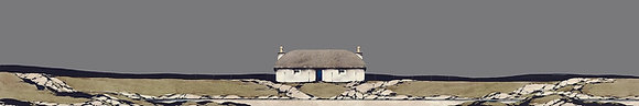 'Uist Thatched Cottage' by Ron Lawson