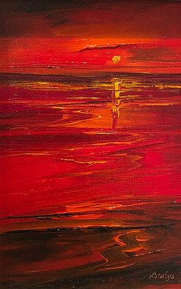 'Magical Sundown' by Senja Brendon