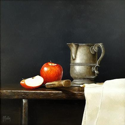 'Tankard with Apple' by Ian Mastin